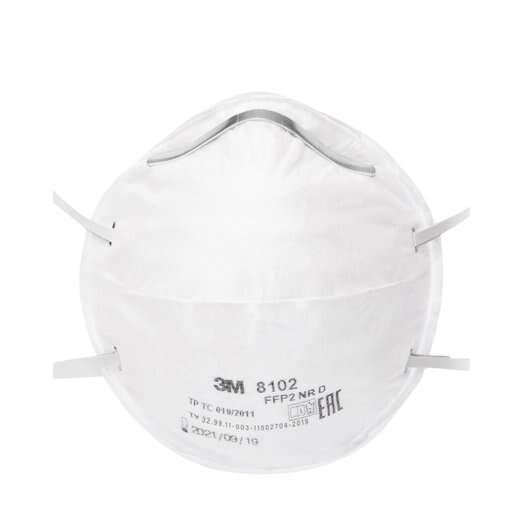 Респираторная маска FFP2 3М 8102 без клапана выдоха